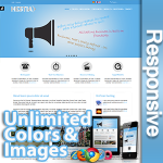 Hestia / Pro Edition / Unlimited Colors  / Responsive / Mega Menu / 10 Modules / Bootstrap