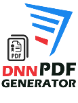 DNN PDF Generator Add-on 2.0