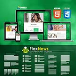 HTML5 CSS3 // Web3.0 Boxed // Multiple Color // Flat // Retina // Mobile Themes // News Module