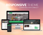 Responsive DNN Theme BD001 Green / Fitness / Sports / Mega Menu / LeftMenu / Bootstrap3 / Slider