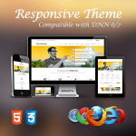 Revolution Orange Theme / Ultra Responsive / Bootstrap 3 / Parallax / DNN 6.x & 7.x