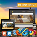 Structure //  Construction Business // HTML5 & Bootstrap3  // Site Templates // Portfolio // Blog