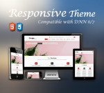 Simple Theme Red / Ultra Responsive / Bootstrap 3 / Parallax / DNN 6.x & 7.x