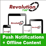 Revolution720 // Push Notifications // Offline Content // App-Store Apps