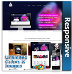 Shadhin Super Fast DNN Theme (1.02) / Skin / Live Customizer /  Portfolio Module / Mega Menu /