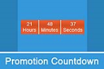 DNNSmart Promotion Countdown 1.0.7 - Count down and Count up, Responsive, Azure Compatible, DNN9