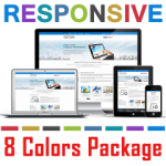 PT13724 Responsive Skin Pack / Slider / jQuery / Bootstrap / Tablet Mobile Business / 7/6/5