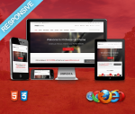 Professional Red Theme / Ultra Responsive / HTML5 / CSS3 / Bootstrap 3 / Parallax / Retina Ready