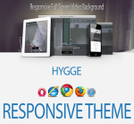 Hygge / Blue / Mega Menu / Ultra Responsive / Bootstrap 3 / HTML5 / CSS3 // Clean / Beautiful