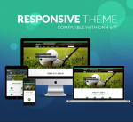 Responsive Theme BD002 Forest Green / Golf / Business / Slider / Mega Menu / Side Menu / Parallax