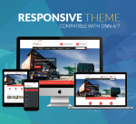 Responsive Theme BD004 Red / Transport / Business / SideMenu / MegaMenu / Slider / Bootstrap