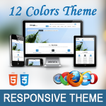 Simple Theme // 12 Colors // HTML5 // CSS3 // Ultra Responsive // Bootstrap 3 // Parallax / Retina