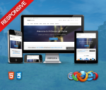 Professional AquaBlue Theme // Ultra Responsive // HTML5 // CSS3 // Bootstrap 3 // Parallax