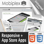 Mobiplex // App Store Apps // Bootstrap 3  // Responsive // Unlimited Colors // v1.0.7