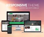 Responsive Theme BD001 Green / Fitness / Sports / Healthy / MegaMenu / LeftMenu / Bootstrap / Slider
