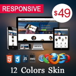 Artificial / 12 Colors Theme  / Ultra Responsive / HTML5 / CSS3 / Bootstrap / Parallax