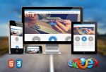 Modern Theme / Corporate / Business / Latest / HTML5 / CSS3 / Bootstrap v3.3.5 / Parallax