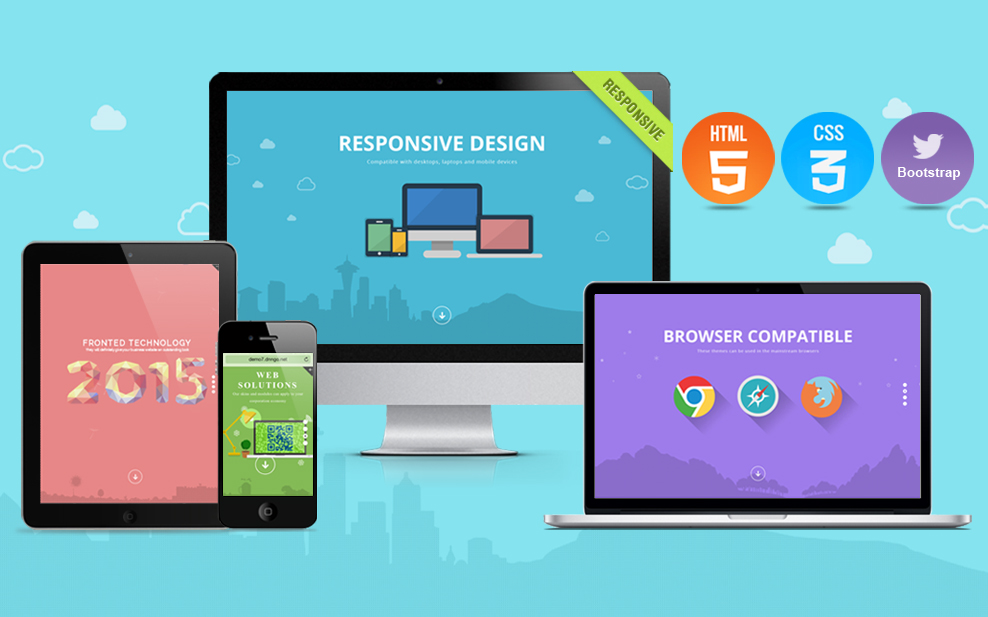Unlimited DNN Theme 049 (V2.3.0) / Responsive / Themes / Retina / Bootstrap 3