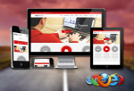 Red Color / Enterprise License / Responsive / Business / HTML5 / CSS3 / Bootstrap v3.3.5 / Parallax