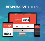 Responsive Theme BD003 Single Color / Business / MegaMenu / SideMenu / Bootstrap / Slider / Mobile