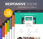 Think Theme / 15 Colors / Responsive / Business / MegaMenu / Page Template / Mobile / Slider