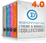 EDS Theme and Module Collection 4.0 (5 professional themes and powerful modules)