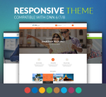 Justdnn BD008 Theme 12 Colors / Business / MegaMenu / SideMenu / Bootstrap / Slider / Mobile