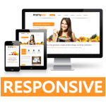 Dream Series - Orange Responsive Skin / Restaurant / Fruits / Bootstrap / Mobile / Pizza Shop