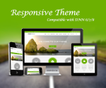 Responsive Green Theme / Enterprise License / Bootstrap v3.3.5 / CSS3 / HTML5 / Parallax