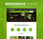 Sallira Theme 12 Colors Pack / Green Garden / Business / Responsive  / Mobile / Parallax / DNN6/7/8