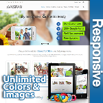 Vaspan Responsive Theme (5.10) / Unlimited Colors/ 700+ Google Fonts / Mega Menu / DNN 6, 7 & 8