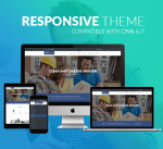 Construction Theme BD001 Navy / Building / Business / Mega Menu / Side Menu / Bootstrap3 / DNN6/7/8