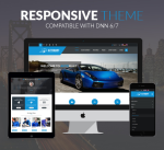 AutoMart 12 Colors Theme Pack / Responsive / Car / Mobile / Parallax / Automotive / DNN6/7/8