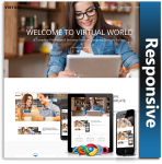 Virtual Responsive Theme (1.05) / Unlimited Colors/ 700+ Google Fonts / Mega Menu / DNN 6, 7 & 8