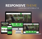 BD007 Green Garden Theme / Business / Slider / Corporate / Parallax / Responsive / DNN6/7/8