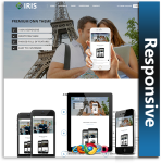 IRIS Responsive Theme (1.04) / Unlimited Colors/ 700+ Google Fonts / Mega Menu / DNN 7, 8 & 9