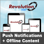 Revolution 900 // Push Notifications // Offline Content // App-Store Apps // 5.1.0
