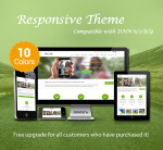 Legacy(v1.2) / 10 Colors / Ultra Responsive Theme / HTML5 / Bootstrap 3 / Parallax / DNN 6,7,8 & 9