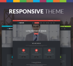 Nexus 15 Colors Theme / Black / Responsive / Business / Mega / Parallax / Site Template / DNN6/7/8