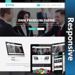 Ceto Responsive Theme (1.01) / Unlimited Colors/ 700+ Google Fonts / DNN 7, 8 & 9