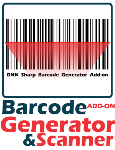 Barcode Generator & Scanner Add-on