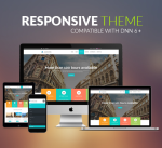 BD007 Cyan Travel Theme / Hotel / Business / Tourism / Holiday / Parallax / Mobile / Slider / DNN6+