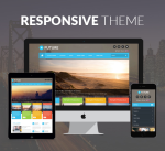 Justdnn Future 12 Colors Pack / Responsive Theme / Business / Mega Menu / Site / Parallax / DNN6+