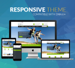 Responsive Theme BD004 YellowGreen / Tourism / Travel / Holiday / Business / MegaMenu / DNN9