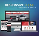 Responsive Theme CarDealer / Car / Automotive / Mega Menu / Left Menu / Parallax / Mobile / DNN9