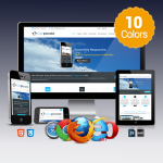 Corporate(v1.3) / 10 Colors /  Ultra Responsive / Bootstrap / Retina / DNN 6,7,8 & DNN 9.x