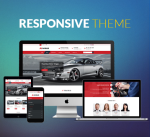 Responsive Car Theme CarDealer / Automotive / Mega Menu / Left Menu / Parallax / Mobile / DNN9