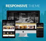 Holiday 12 Color / Hotel / Responsive / Booking / Business / Mobile / Parallax / DNN Site