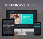 Twinks 12 Colors Pack / Black  Theme / Responsive / Business / Slider / Parallax / DNN6/7/8/9