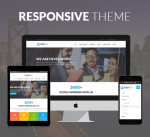 Kaper 12 Colors Responsive Theme / Business / MegaMenu / Side Menu / Parallax / DNN6/7/8/9